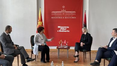 Photo of Ministers Stefoska, Margariti discuss bilateral cooperation and coordination for Ohrid region's joint management