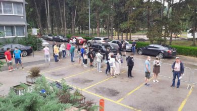 Photo of Economic Chamber of NM employees and members get booster shots in Nis