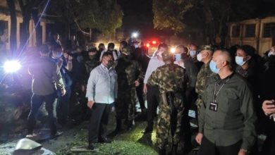 Photo of At least 36 injured in attack on Colombian military base