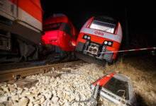 Photo of Austrian train carrying schoolkids crashes into river, injuring 17